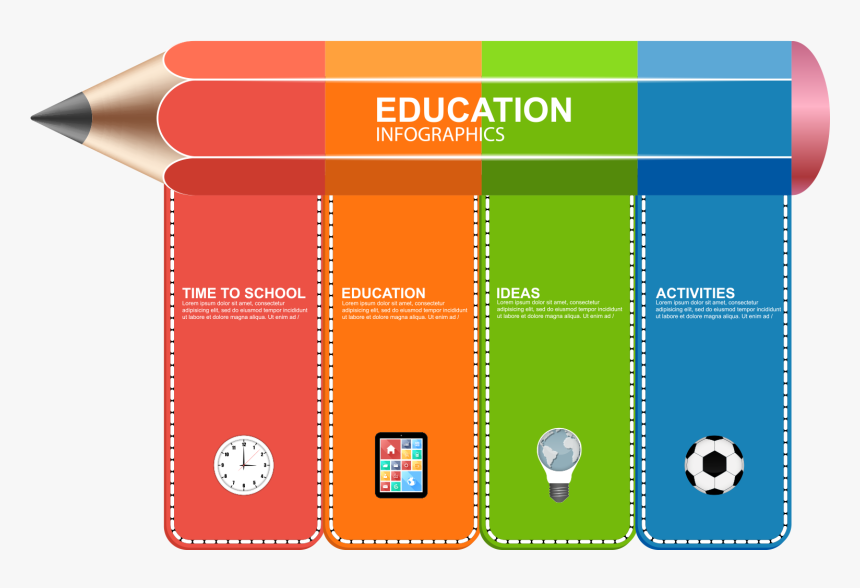 Vector Banner Square Free Infographics For Education Hd Png Download Transparent Png Image Pngitem