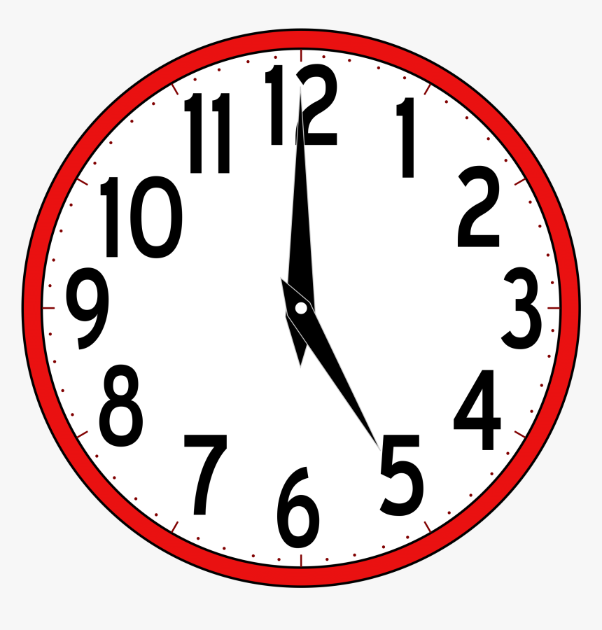 Clip Art Free Clipart Time Clock 5 O Clock Clipart Hd Png Download Transparent Png Image Pngitem