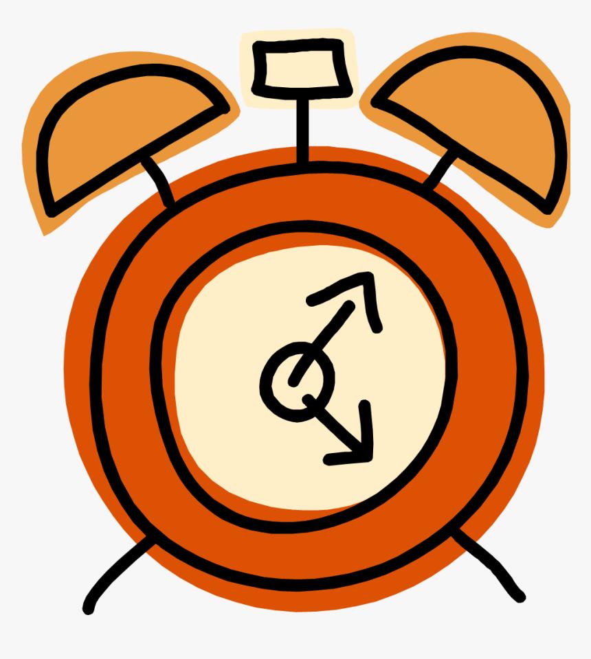 Clipart Clock Orange - Time Clipart, HD Png Download , Transparent ...