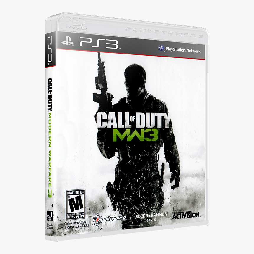 Call Of Duty Modern Warfare 3 Ps3 Hd Png Download Transparent
