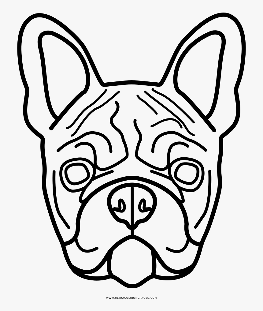 - Coloring Pages Free Download - French Bulldog Coloring Pages, HD