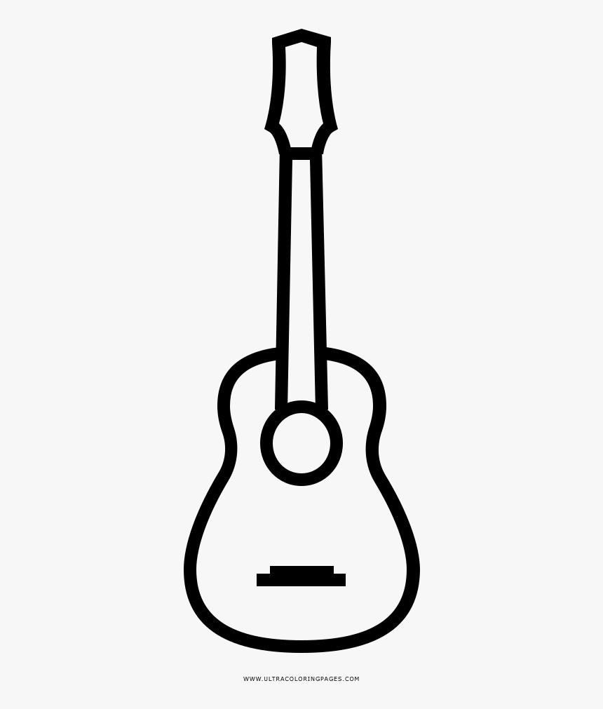 Clip Art Desenho Violao Guitarra Electrica Para Colorear Hd Png