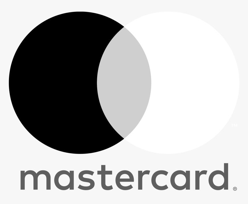 Mastercard Logo Black And White - Mastercard Logo White Png