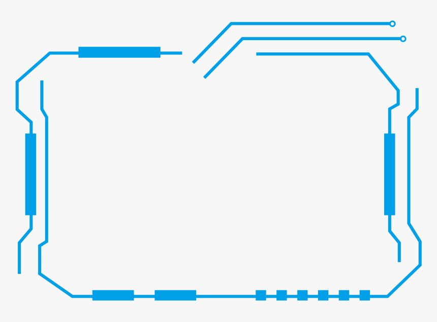 border lines png transparent lines png - border for tech png, png download