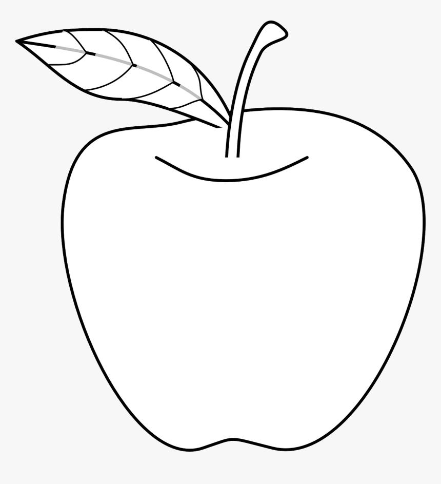 Apple Drawing Svg Clip Arts Apple Outline Hd Png Download Transparent Png Image Pngitem