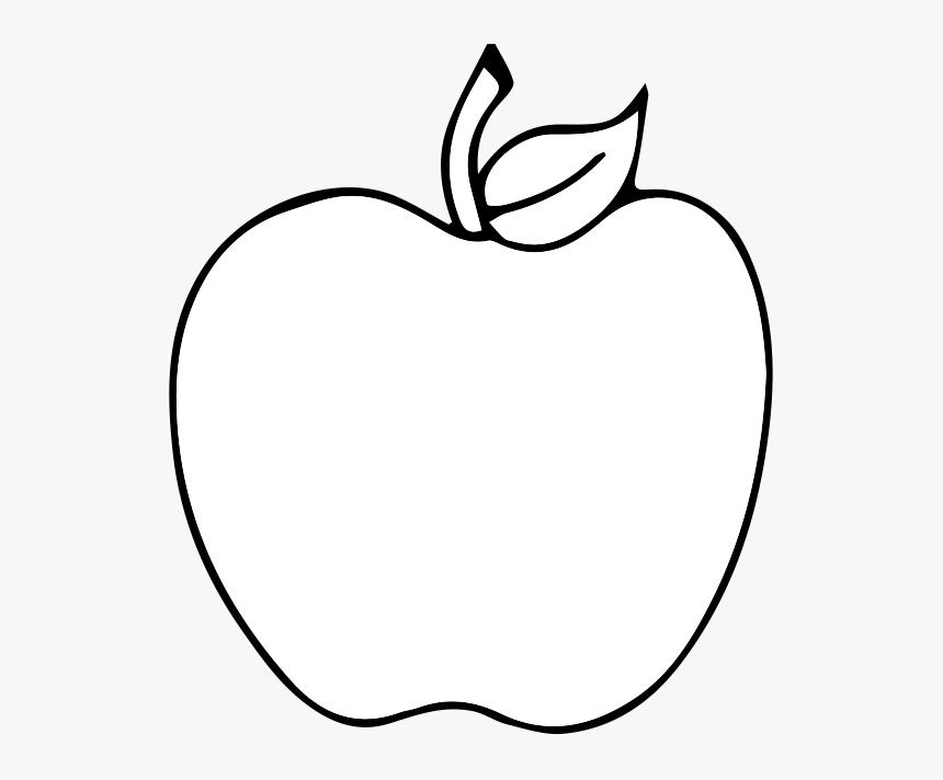 Black And White Apple Drawing Clip Art Black And White Apple Silhouette Clip Art Hd Png Download Transparent Png Image Pngitem