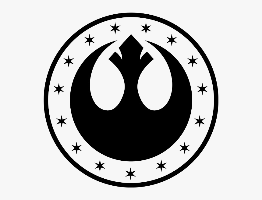 Star Wars Symbols New Republic Clipart Png Download Star Wars