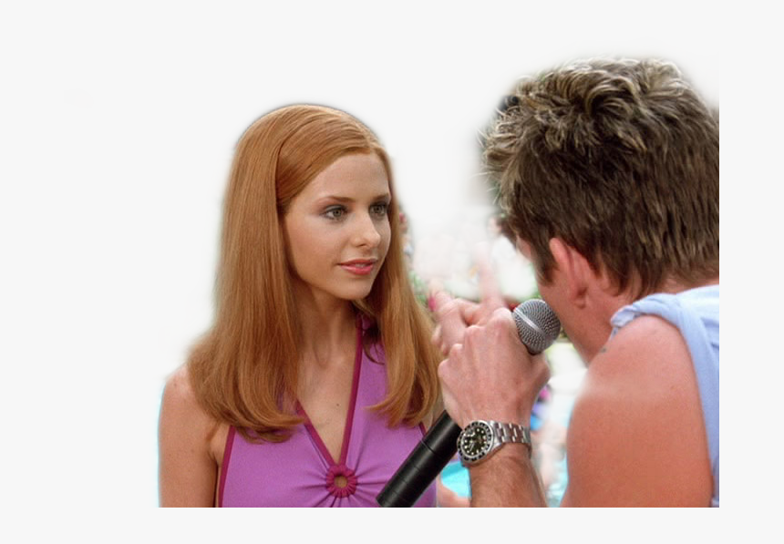 Sarahmichellegellar Sarah Michelle Gellar As Daphne Scooby Doo 2002 Daphne Beach Party Hd Png Download Transparent Png Image Pngitem