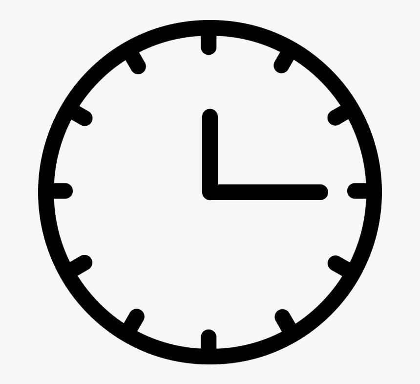 Analog Clock Vector - White Clock Vector Png, Transparent Png , Transparent Png Image - PNGitem