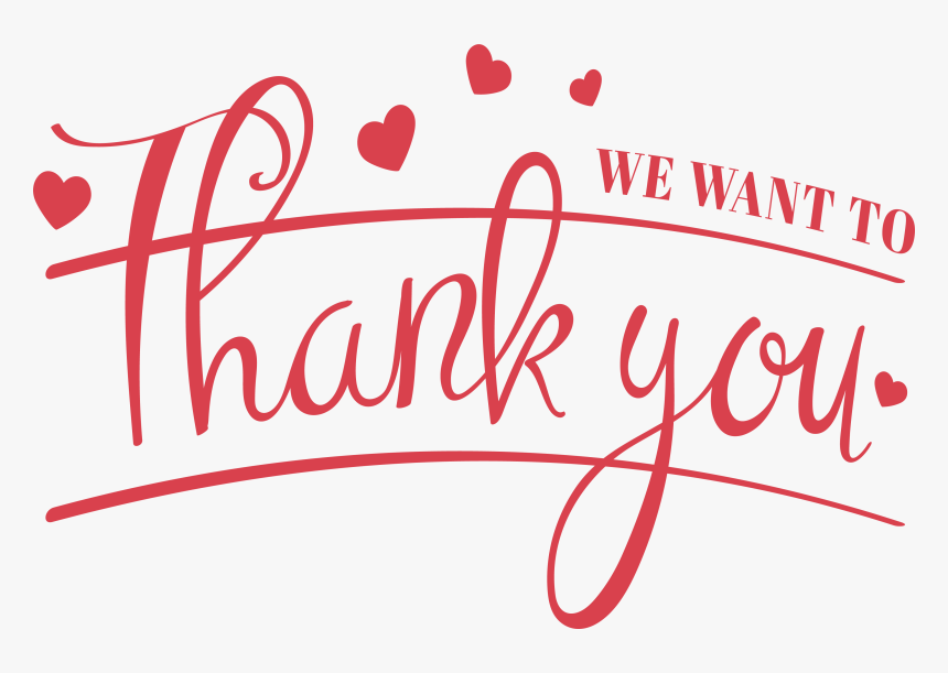 Transparent Thank You For Your Attention Png Thank You For Your