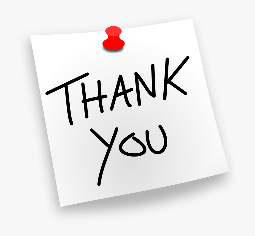 Thank You Clipart For Powerpoint Thank You Clip Art Thank You Free Clipart Hd Png Download Transparent Png Image Pngitem
