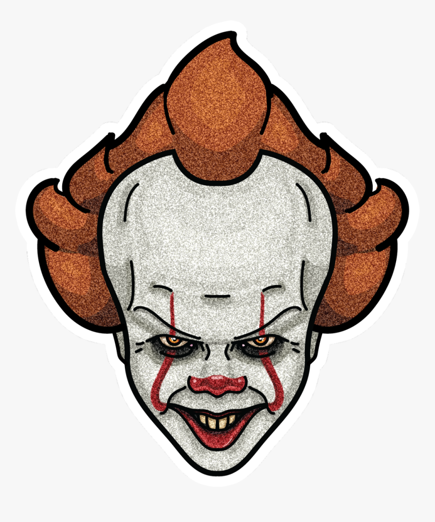 Wukong Designs On Twitter Pennywise The Dancing Clown Pennywise Simple Drawing Hd Png Download Transparent Png Image Pngitem