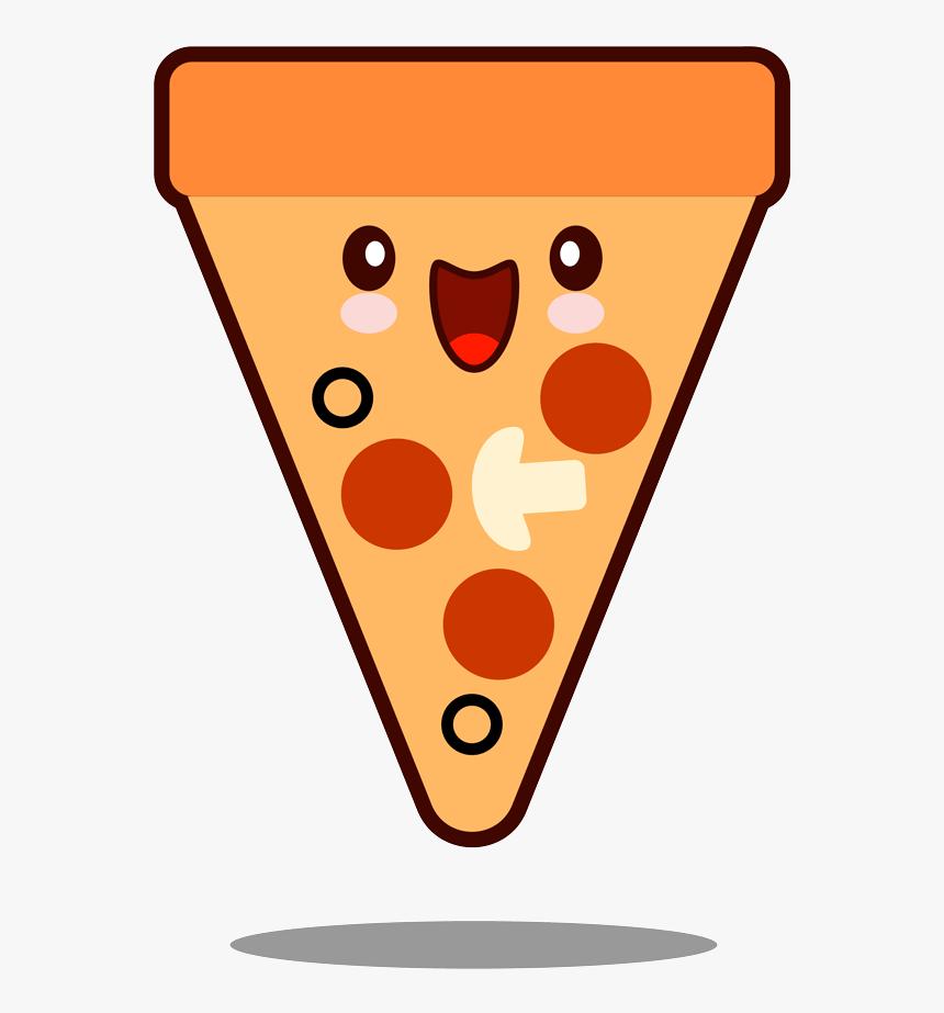 Dibujo Pizza Kawaii Png Drawn Kawaii Pizza Transparent