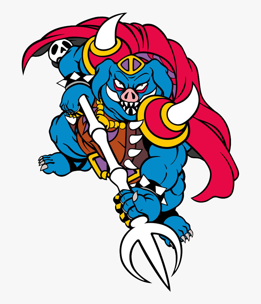 Zelda Ganon A Link To The Past Png Transparent Png