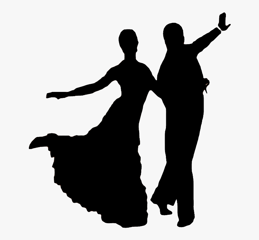 Transparent Salsa Dance Clipart Ballroom Dancing Silhouettes Free Hd Png Download Transparent Png Image Pngitem