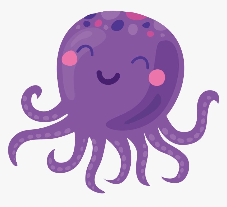 Clip Art Black And White Stock Octopus Svg Purple - Gentleman Octopus,  Cliparts & Cartoons - Jing.fm