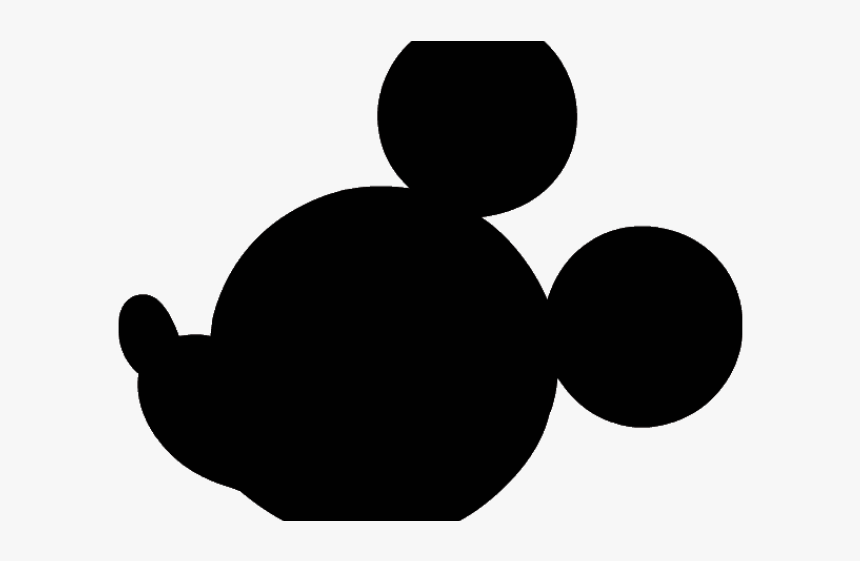 Mickey Mouse Head Silhouette Mickey Mouse Head Transparent Background Hd Png Download Transparent Png Image Pngitem