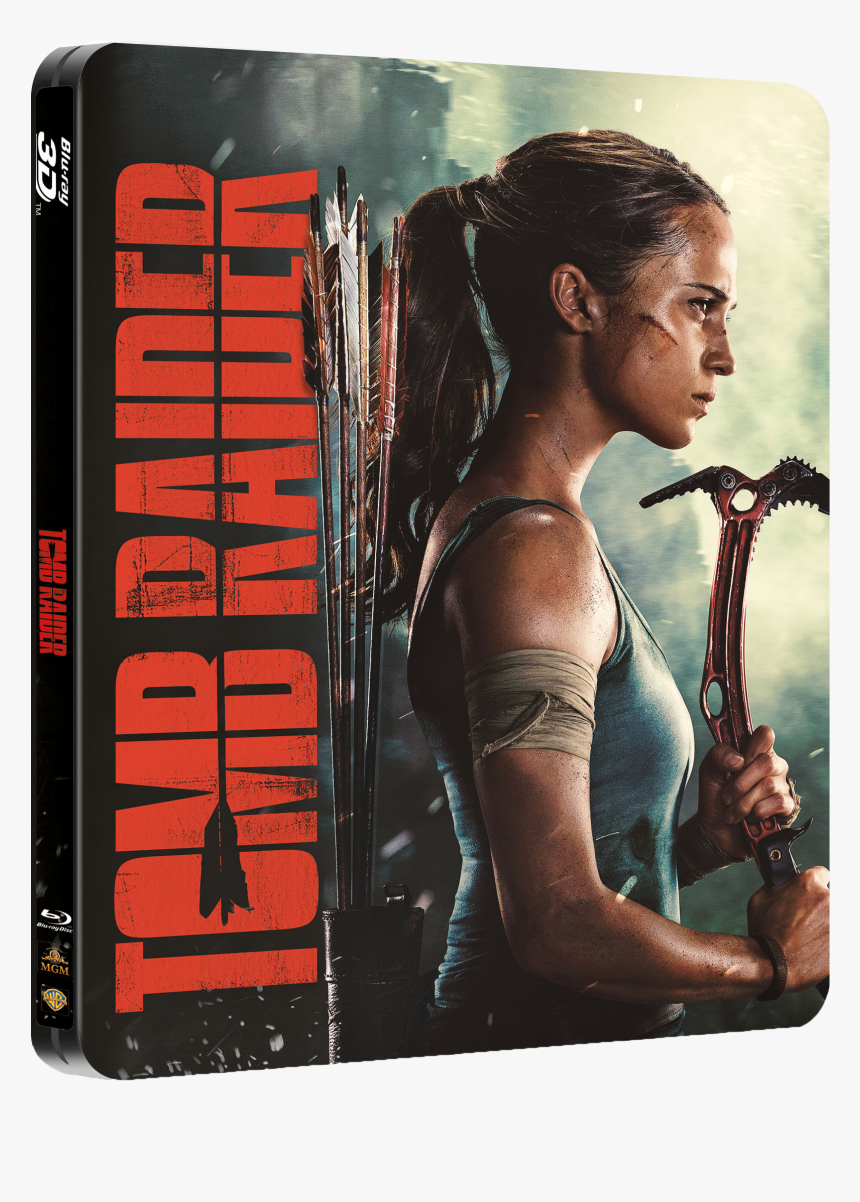 Alicia Vikander Tomb Raider Poster Hd Png Download Transparent