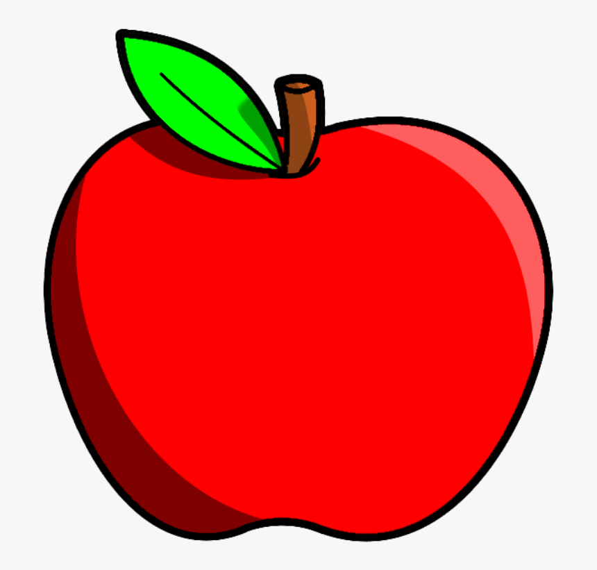 Red Apple Fruits Png Transparent Images Clipart Icons - Apple ...