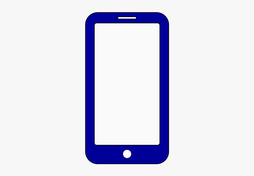 Mobile Phone Icon Dark Blue Hd Png Download Transparent Png Image Pngitem