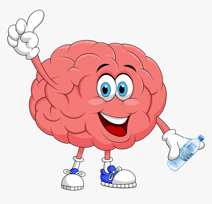 Brain Clipart Smart Brain Cartoon Images Of Brains Hd Png Download Transparent Png Image Pngitem