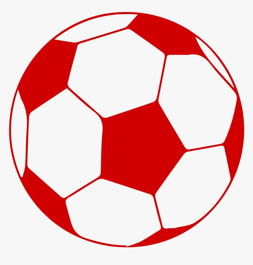 Red Soccer Ball Png Png Download Soccer Ball Transparent Background Png Download Transparent Png Image Pngitem