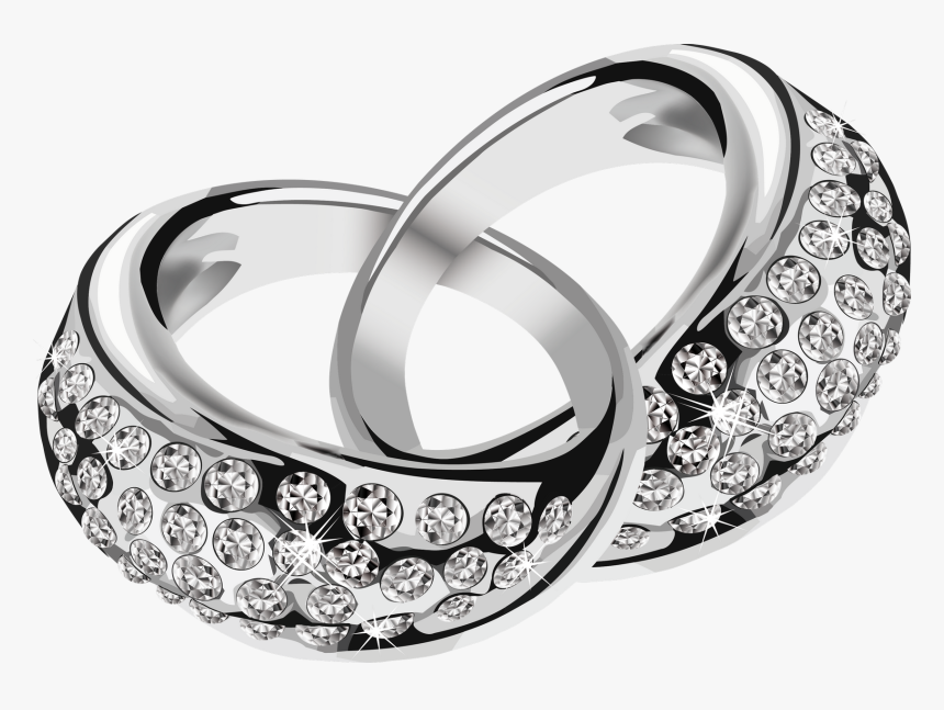6796 Silver Wedding Ring Png Transparent Png