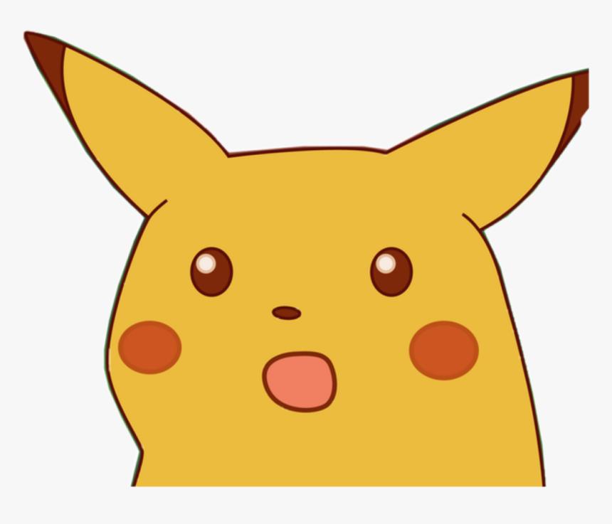 Surprised Pikachu Face