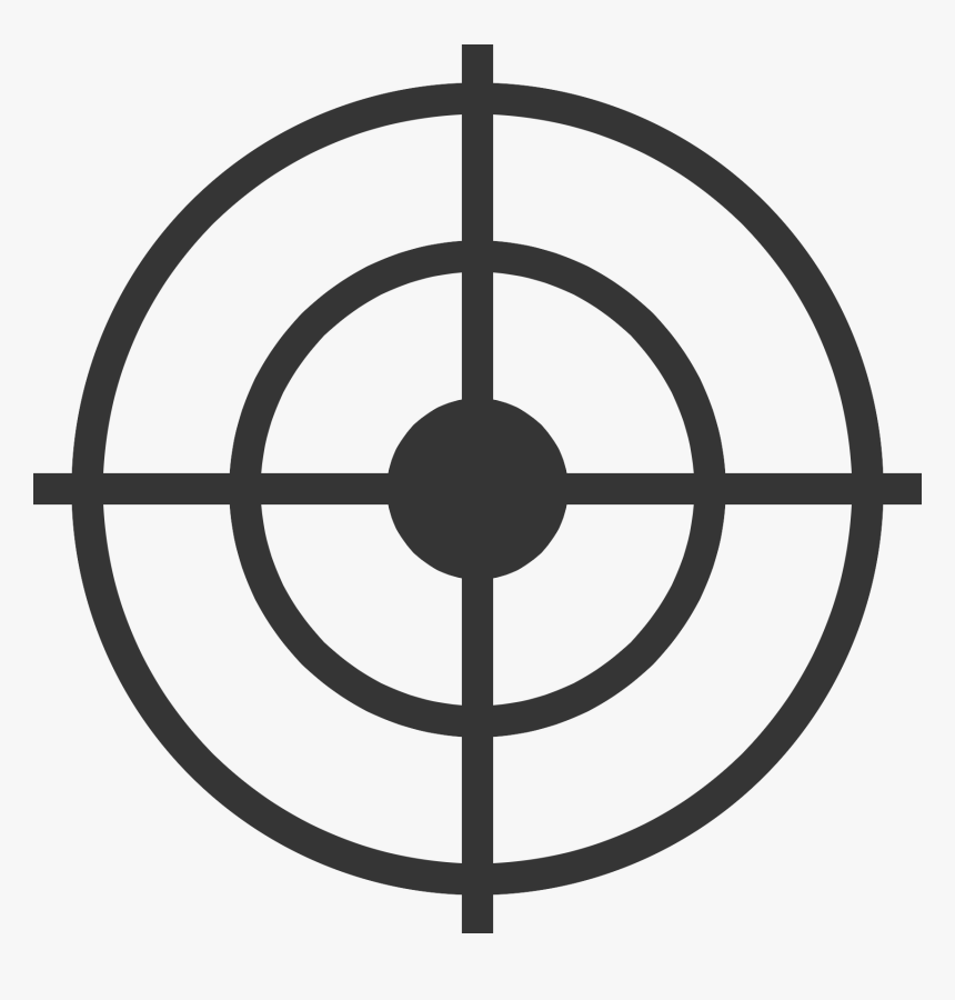 Shooting Target Computer Icons Target On Transparent Background Hd Png Download Transparent Png Image Pngitem