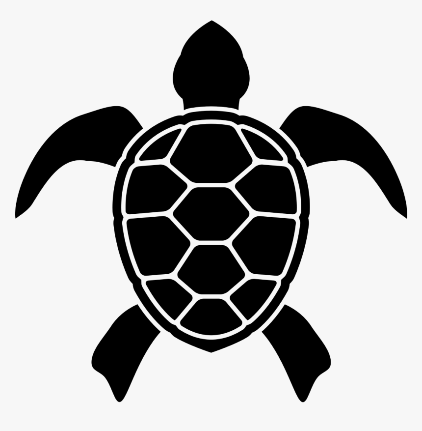 Turtle Silhouette Png Sea Turtle Icon Transparent Png