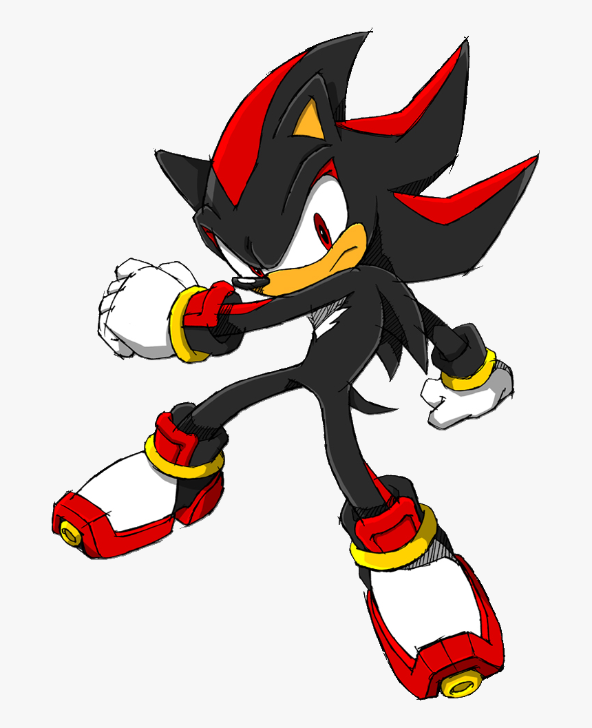 Shadow The Hedgehog Shadow The Hedgehog 2d Hd Png Download