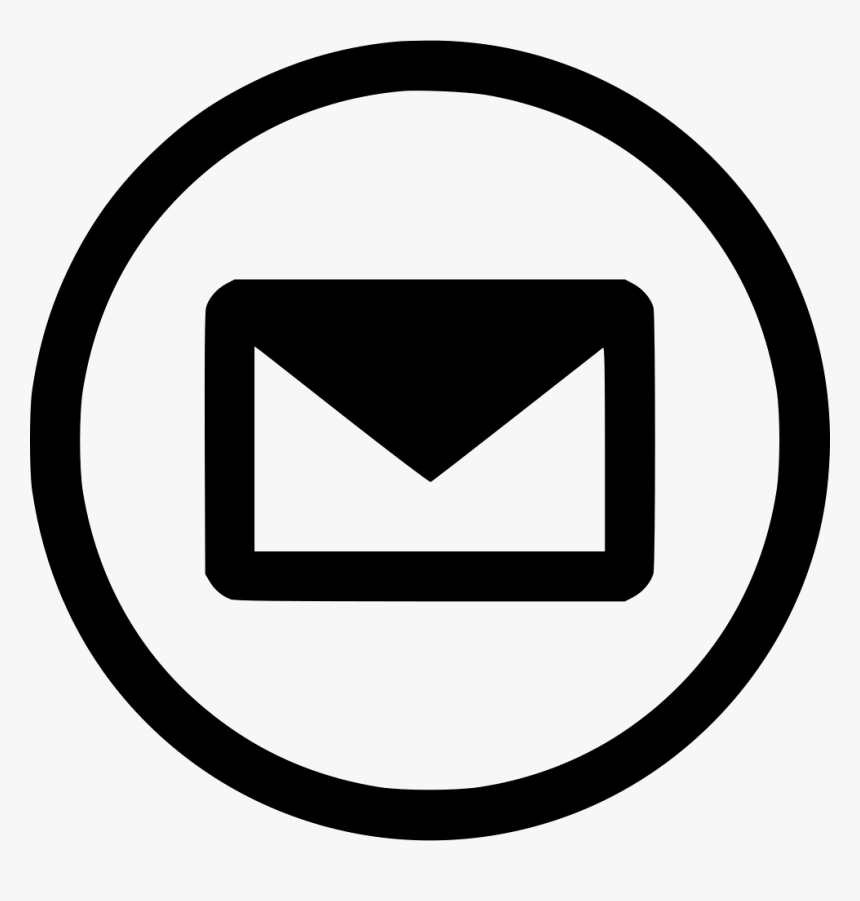Transparent Email Vector Icon Png Free Email Icon Round Png Download Transparent Png Image Pngitem