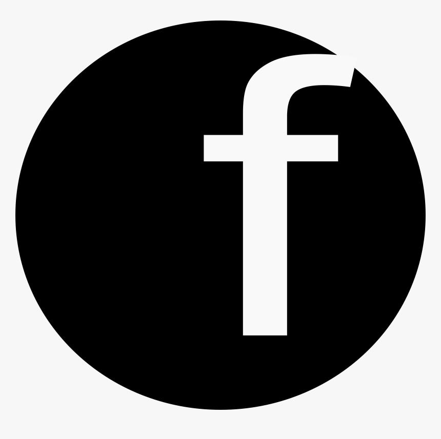 White Circle White Facebook Logo Png Transparent ...