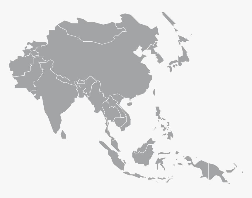 Transparent Map Of World Png Southeast Asia Map Grey Png Download Transparent Png Image Pngitem