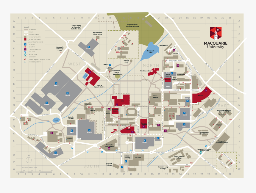 rensselaer polytechnic institute campus map Macquarie Uni Campus Map Hd Png Download Transparent Png Image rensselaer polytechnic institute campus map
