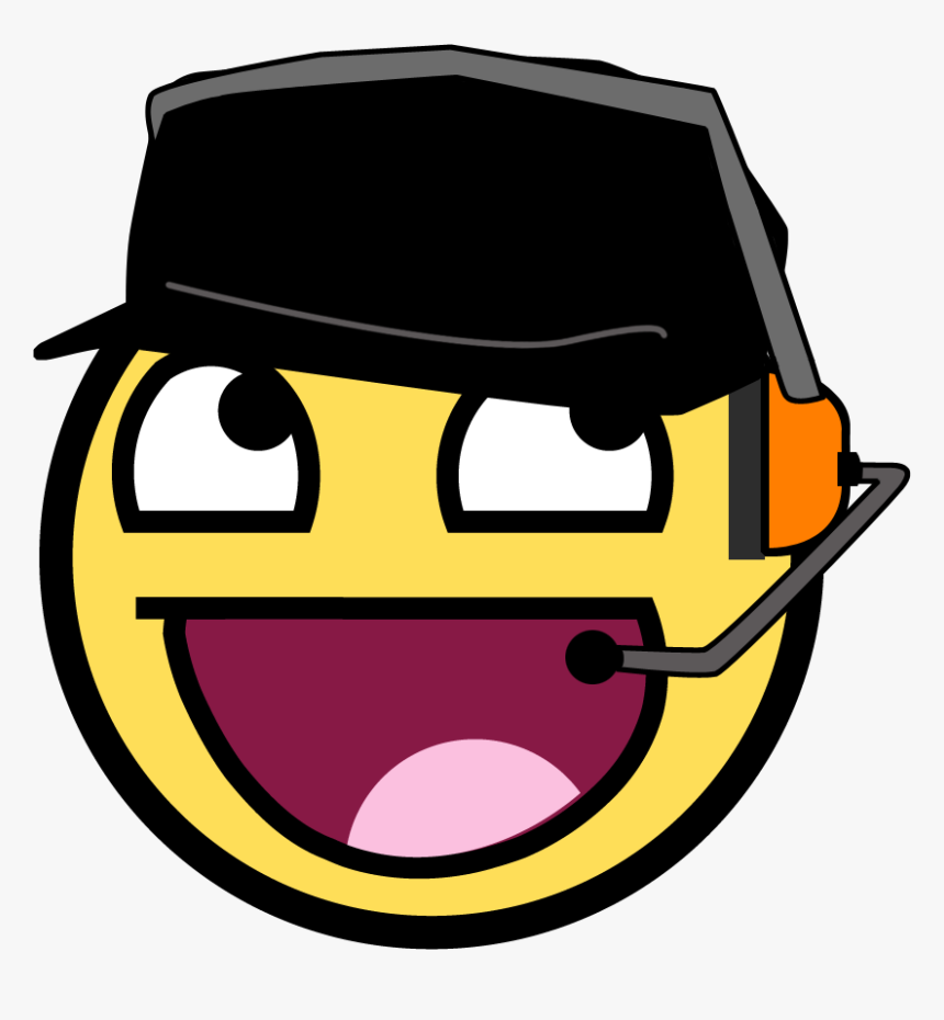 Team Fortress 2 Smiley Clip Art Awesome Face Scout Hd Png Download Transparent Png Image Pngitem