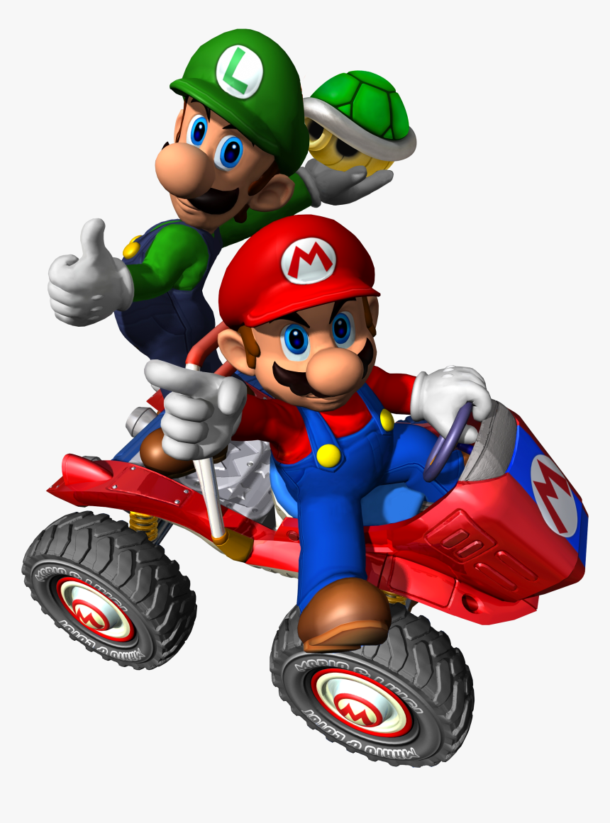 Mario And Luigi Png Transparent Image Mario Kart Double