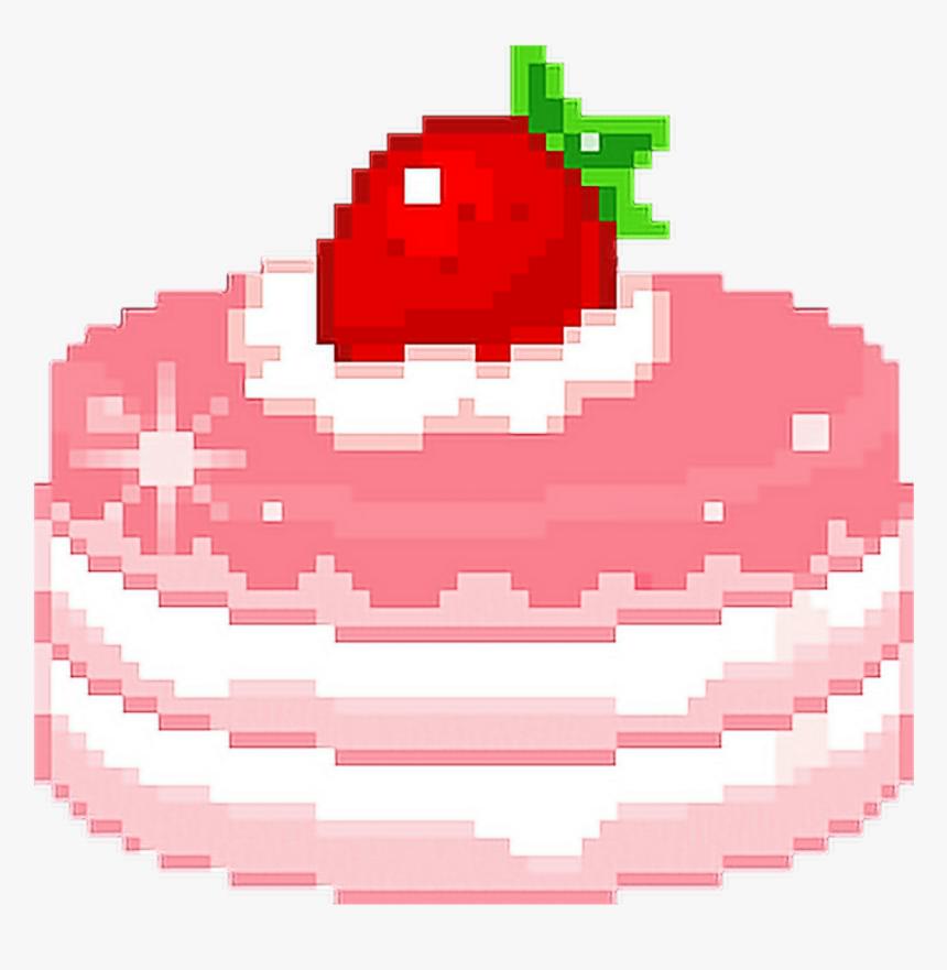 Hd Black And White Kawaii Food Pixel Art Hd Png Download