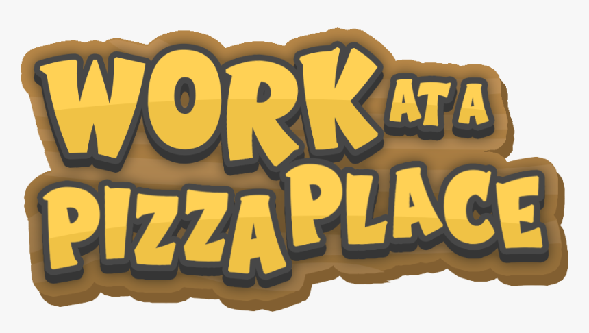 Roblox Work At A Pizza Place Logo Hd Png Download
