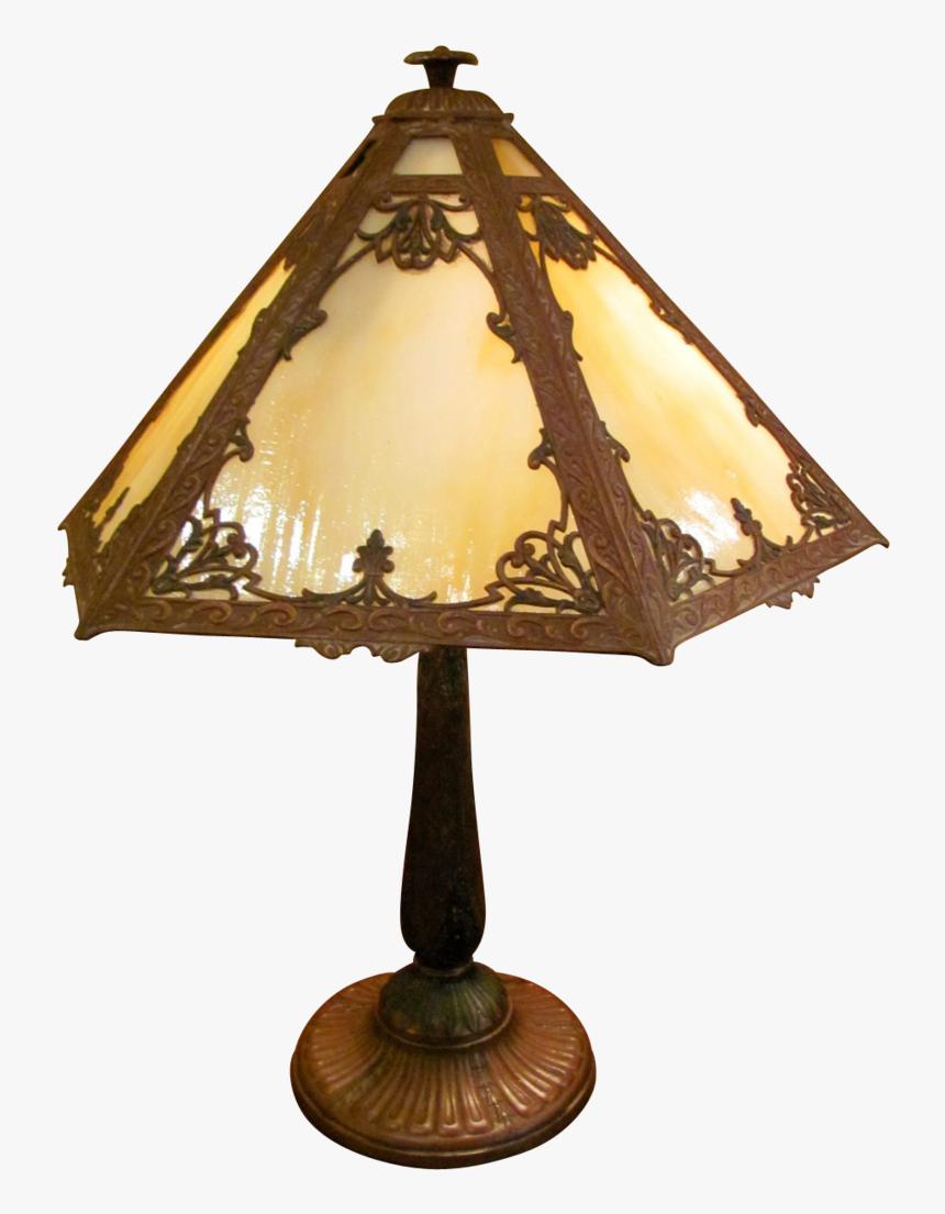 Vintage Lamp Png Image Antique Table