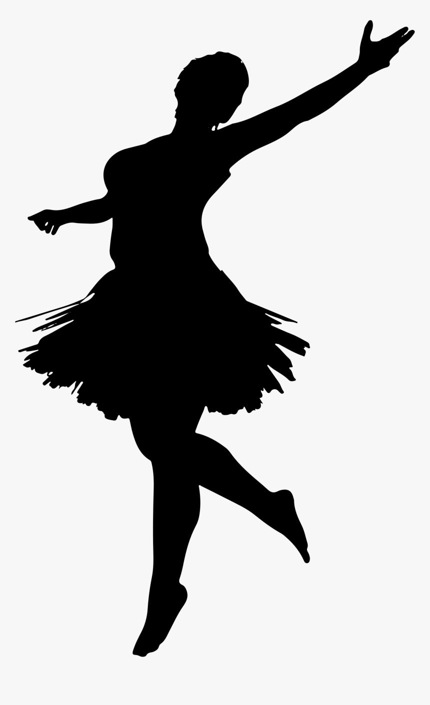 Ballet Dancer Silhouette Dancing Girl Silhouette Png Transparent Png Transparent Png Image Pngitem