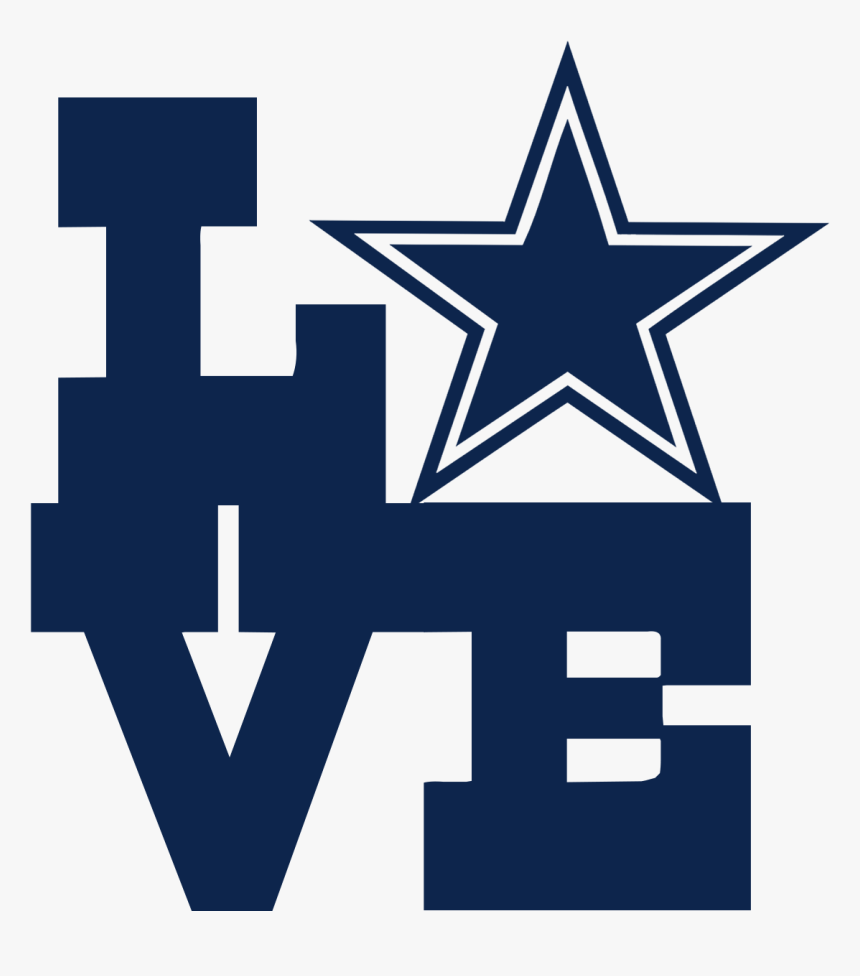 Download Love Dallas-car/truck Decal - Dallas Cowboys Free Svg, HD ...