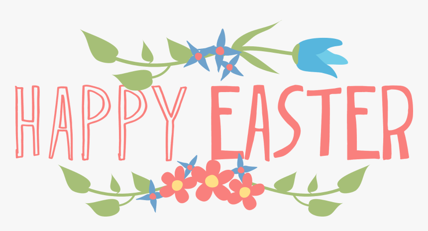 Easter Bunny Happiness Clip Art - Happy Easter Clipart Transparent Background, HD Png Download