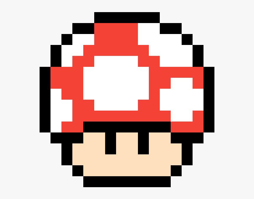Pixel Mario Mushroom Gif Clipart Png Download Pixel Art