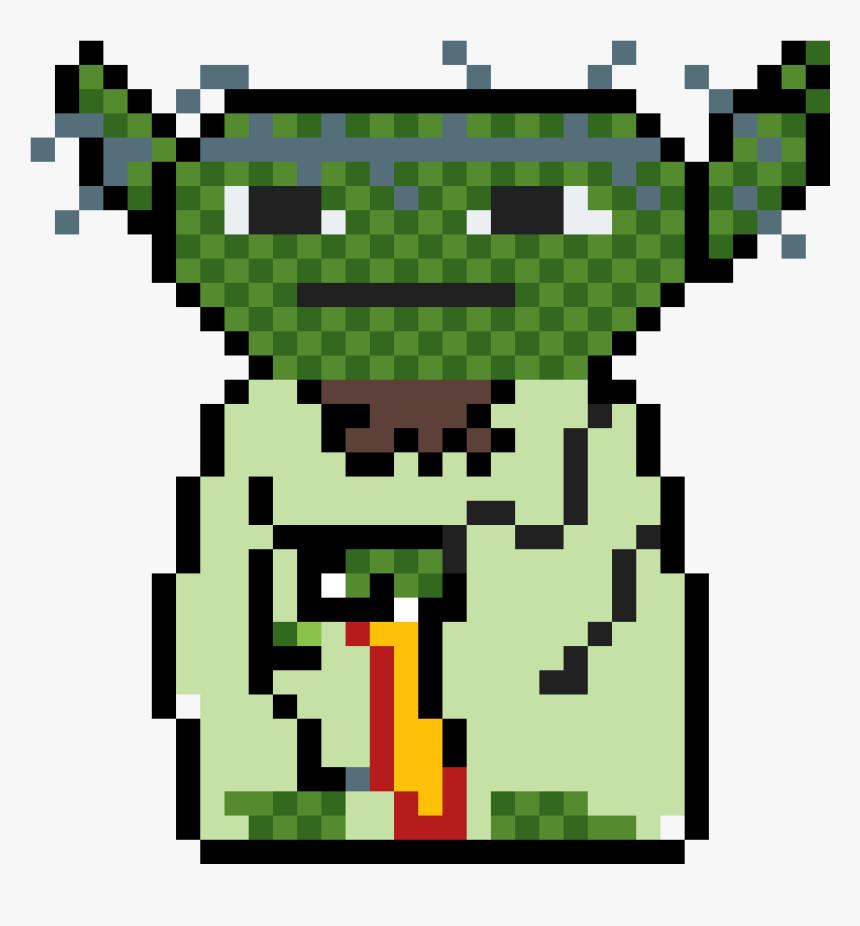 Star Wars Pixel Art Yoda Hd Png Download Transparent Png