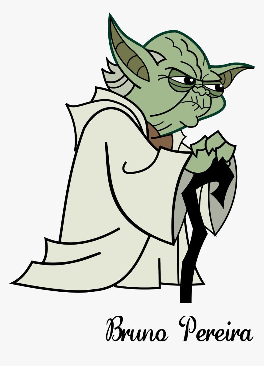 Yoda Anakin Skywalker Star Wars Cartoon Star Wars Characters Hd Png Download Transparent Png Image Pngitem