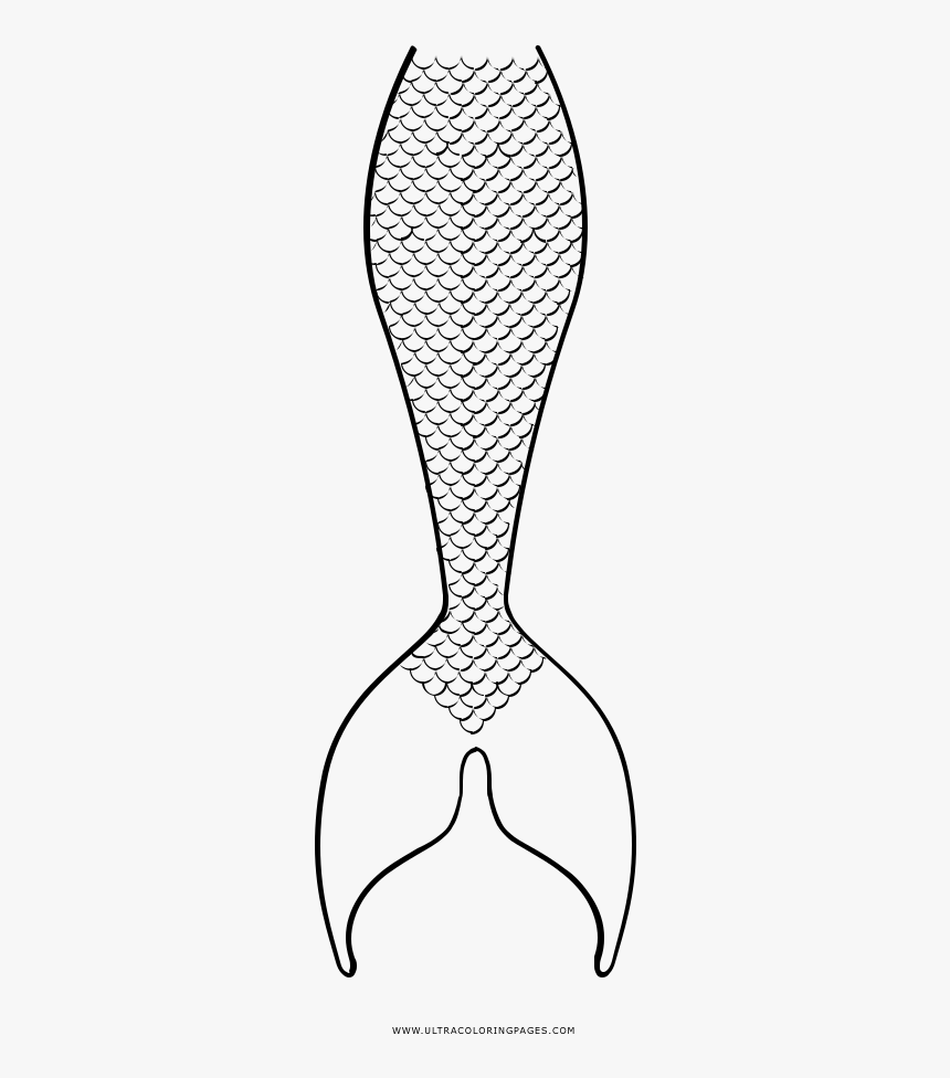 Mermaid Tail Coloring Page - Mermaid Tail Coloring Pages ...