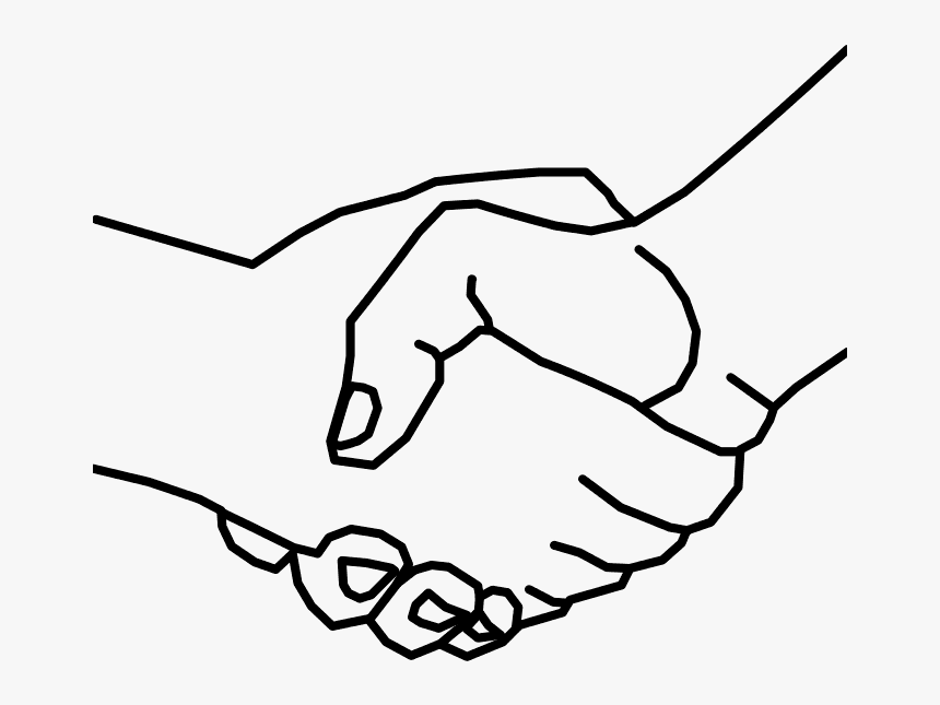 Handshake Clipart Black And White Png Hand Shake Drawing Easy Transparent Png Transparent Png Image Pngitem Businessperson cutright insurance llc computer icons, hand shake png. handshake clipart black and white png
