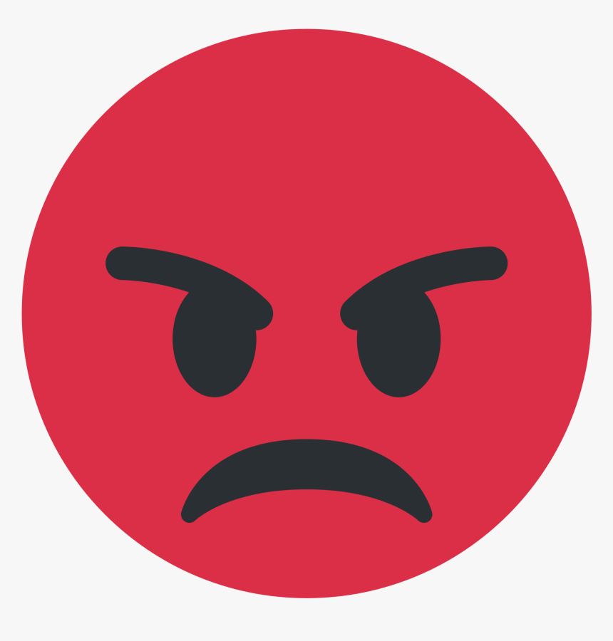 Angry Transparent Blob Angry Face Emoji Png Png Download