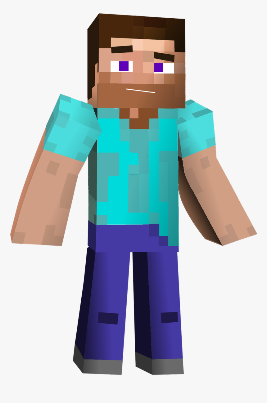 Minecraft Steve Png Steve Minecraft 3d Transparent Png